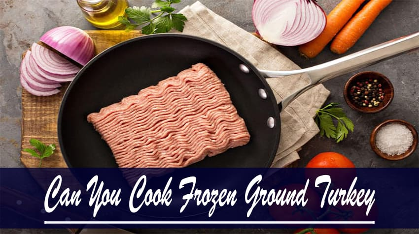 can you cook frozen ground beef