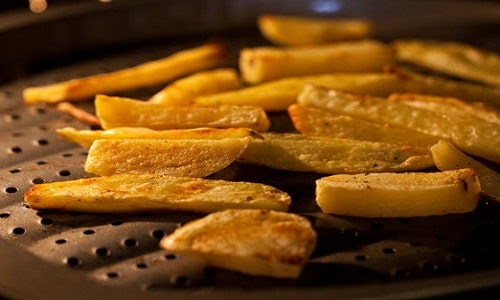 how to cook french fries in the microwave