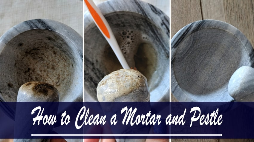 how to clean a molcajete for the first time