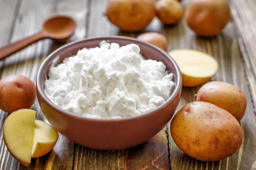 what can replace sweet rice flour