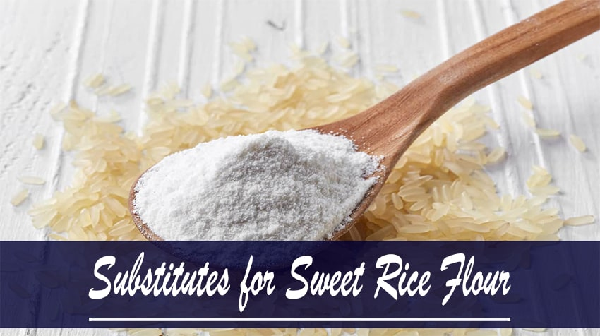 sweet brown rice flour substitute