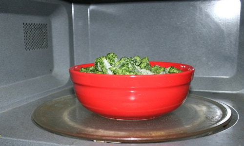 how best to thaw frozen spinach
