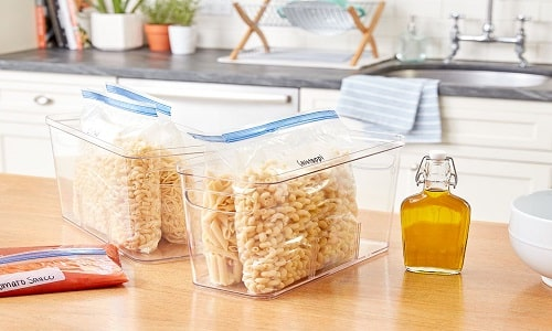 how to store uncooked pasta