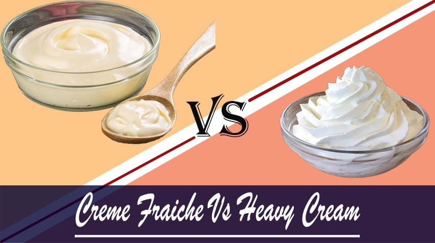 what is the difference between creme fraiche and heavy cream