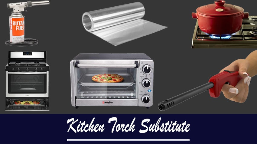 what to use in place of a kitchen torch