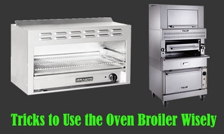 how to use oven broiler