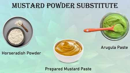 substitute for mustard powder in dry rub