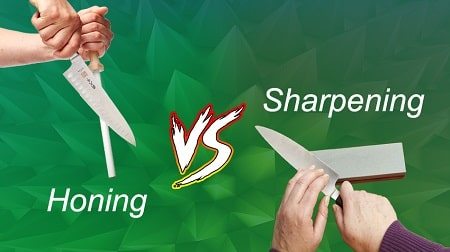 Difference Between Honing and Sharpening