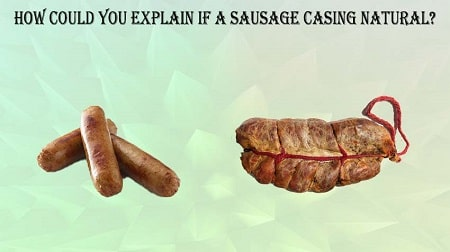 should you take casing off sausage before cooking