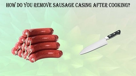 how to cook sausage out of casing