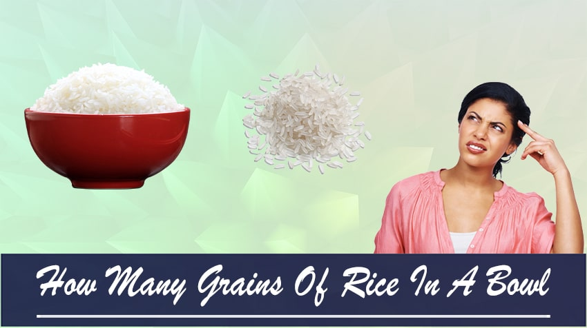 how many grains of rice are in a cup