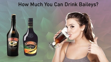 how much baileys to get drunk