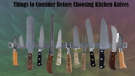 buying guide for kitchen knives