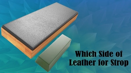 Where to put the strop on the leather