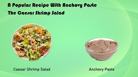 A Popular Recipe With Anchovy Paste-The Caesar Shrimp Salad